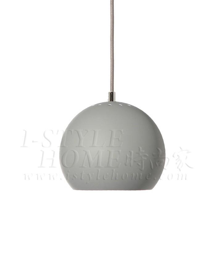Ball light grey matt lig100274