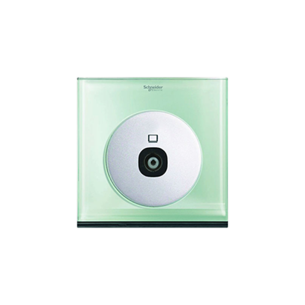Schneider ULTI Crystal Glass TV Socket swi100105