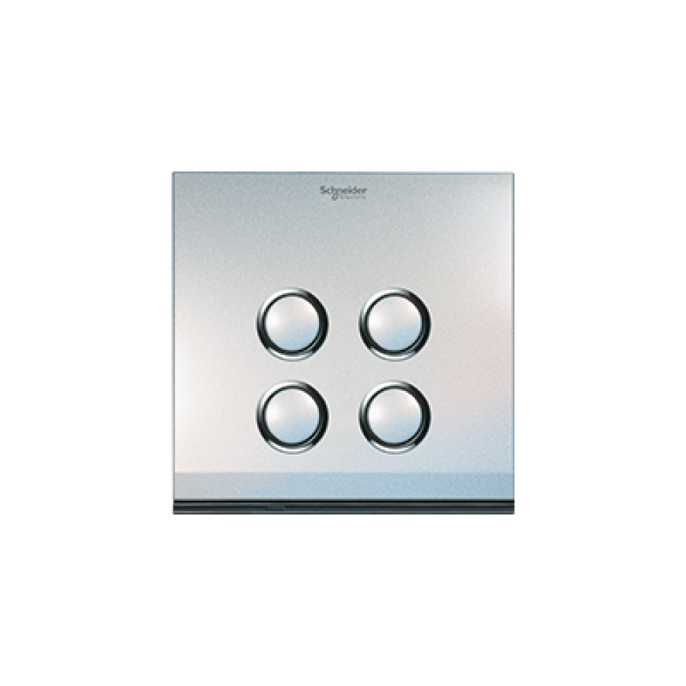 Schneider ULTI Pearl White 4 Gang Switch swi100134