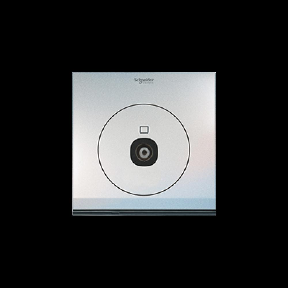 Schneider ULTI Pearl White TV Socket swi100135