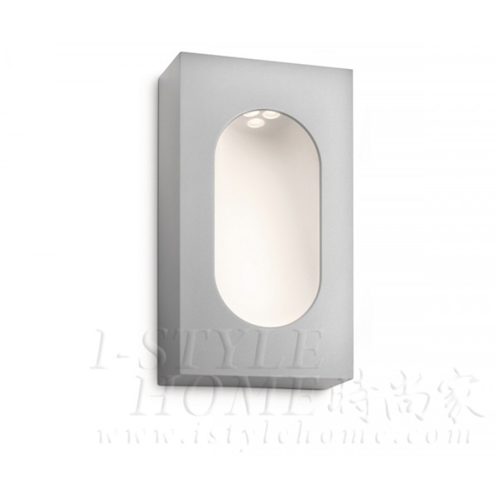 Ledino 16816 grey LED Wall light