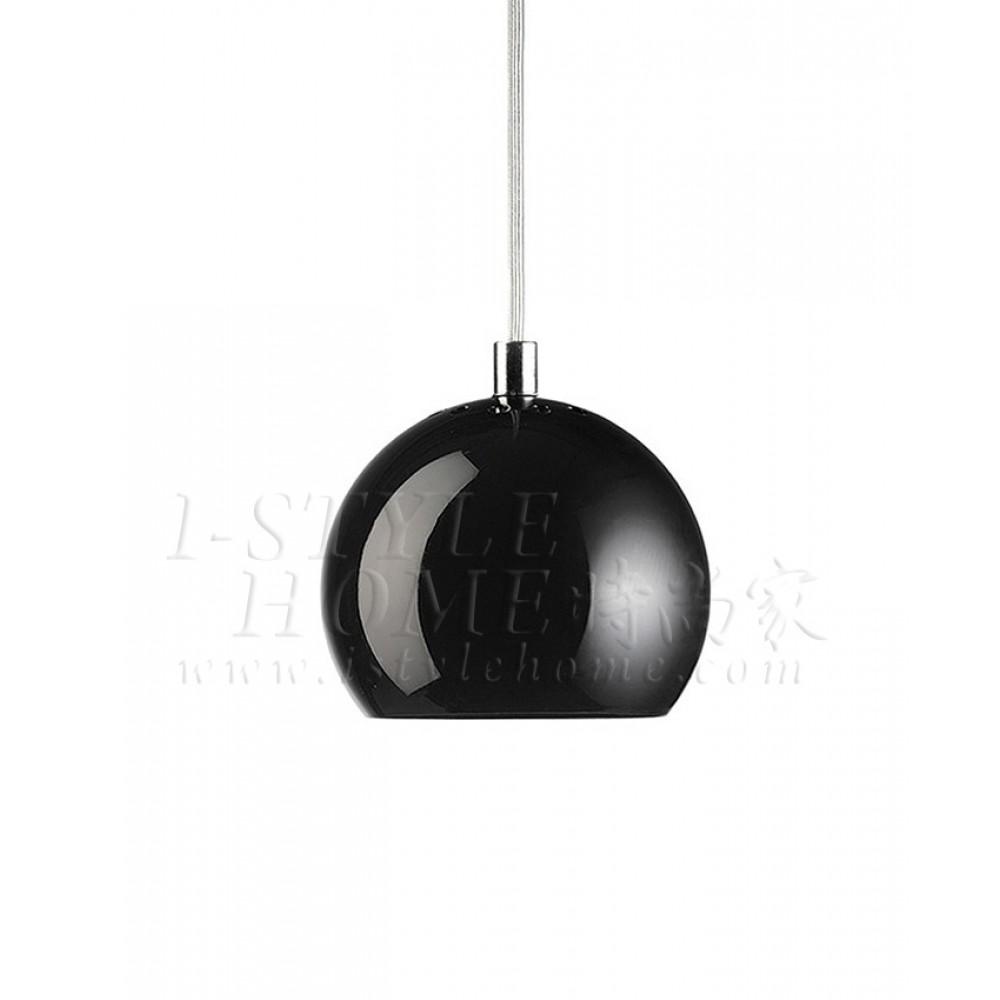 Ball black glossy lig100264