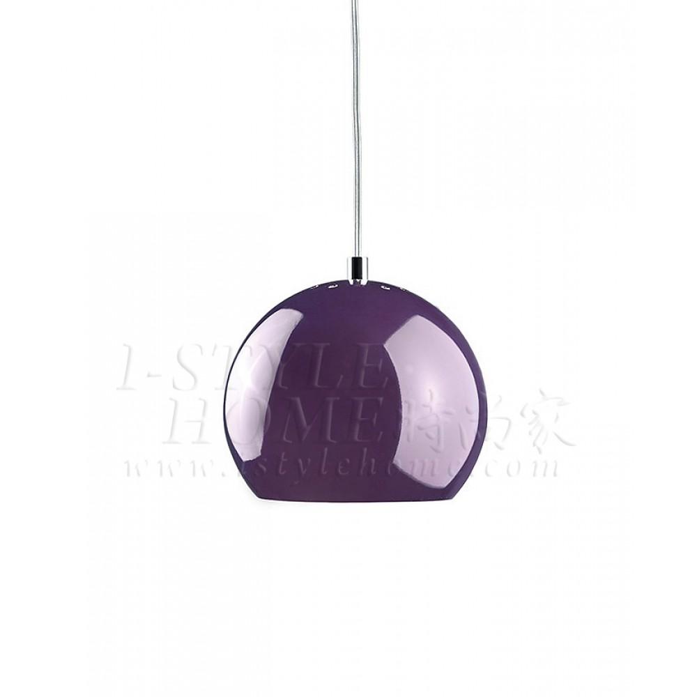 Ball purple glossy lig100266