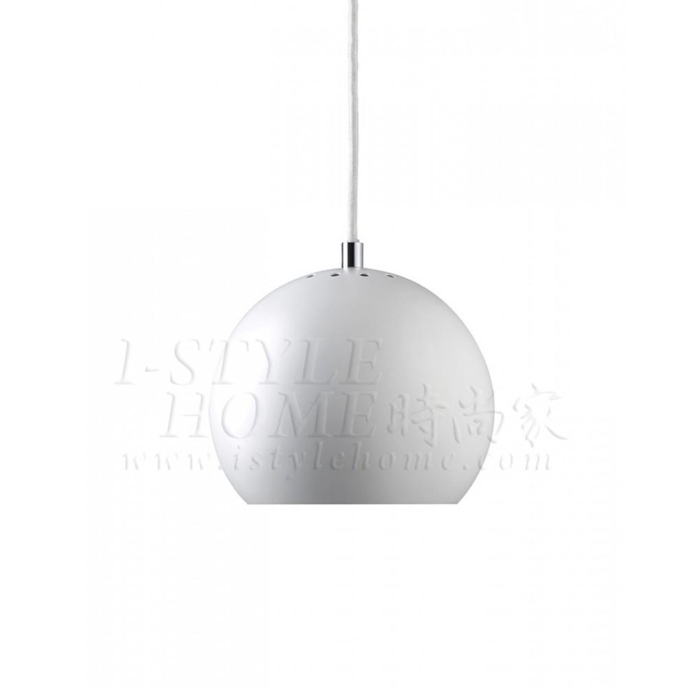 Ball white matt lig100268