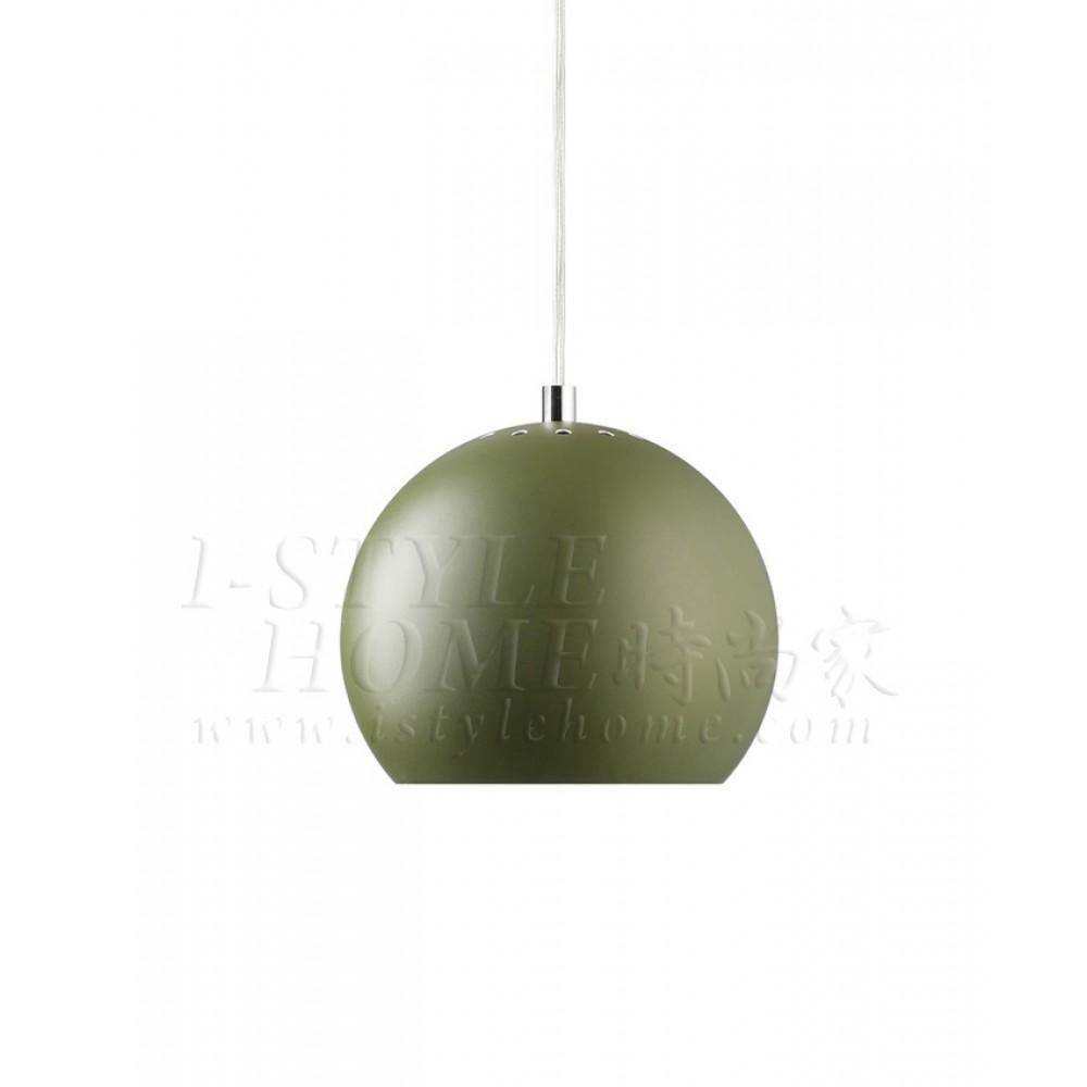 Ball green matt lig100270