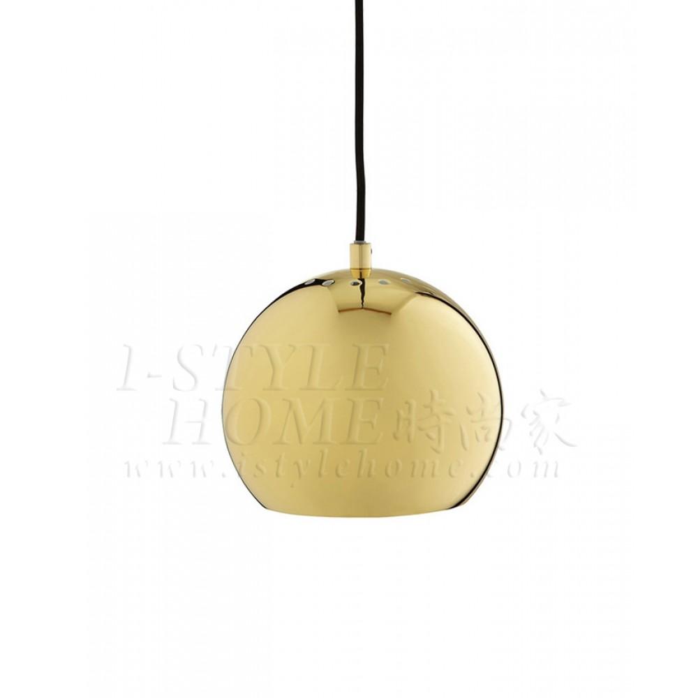 Ball brass glossy lig100272