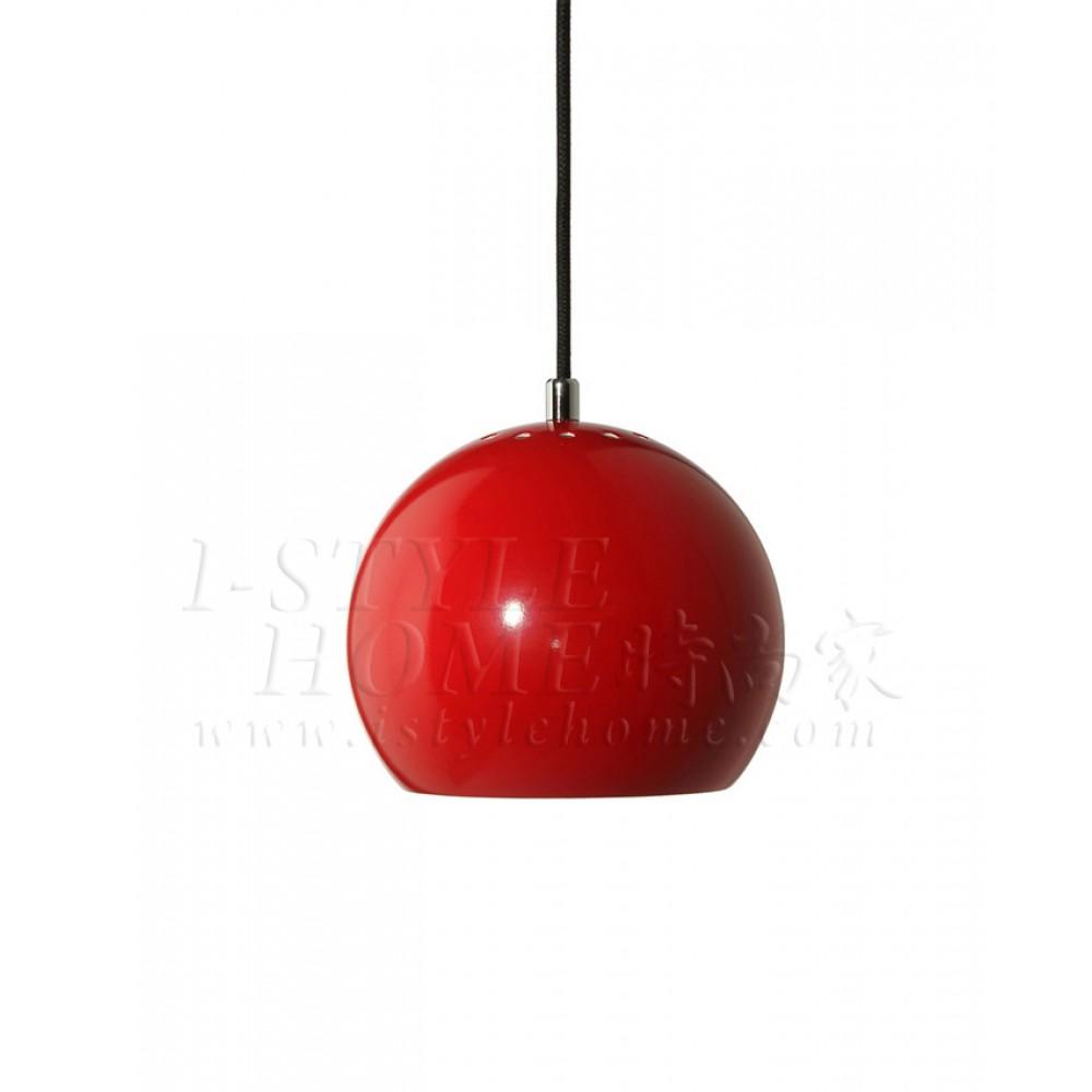Ball red glossy lig100273