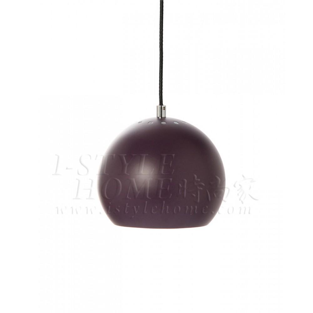 Ball purple matt lig100275