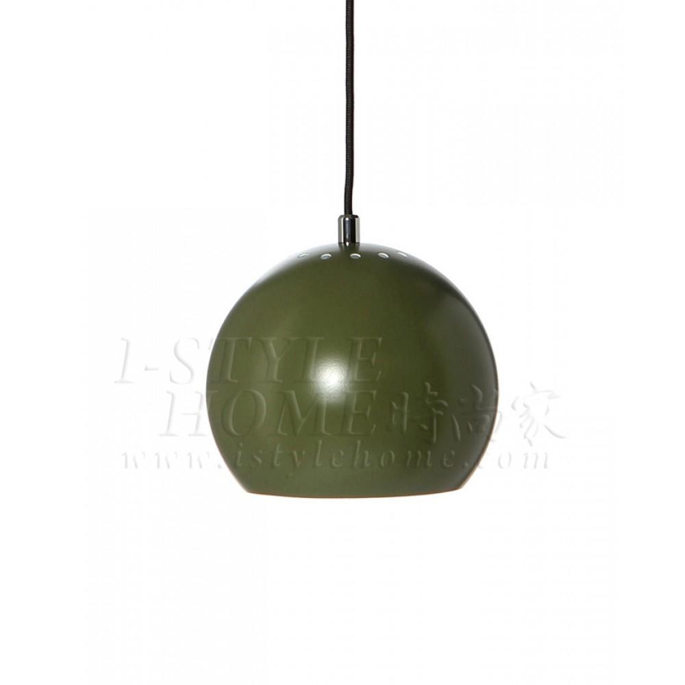 Ball dark green matt lig100279