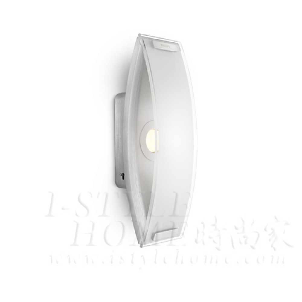 Ledino 37367 27k aluminium LED Wall light