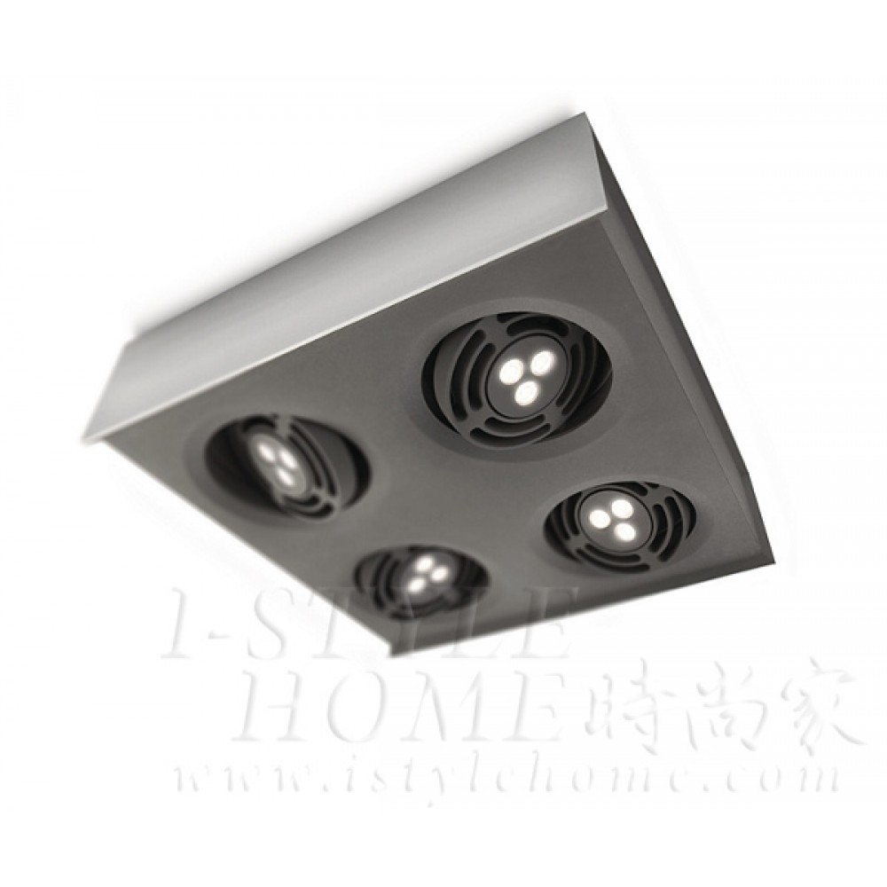 Ledino 57986 aluminium LED Spot light