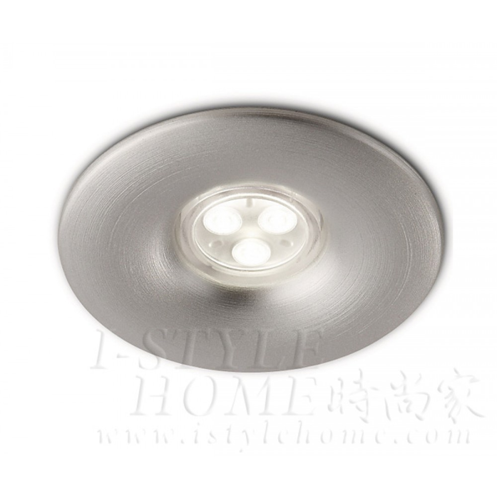 Ledino 57925 7.5W aluminium recessed spot light