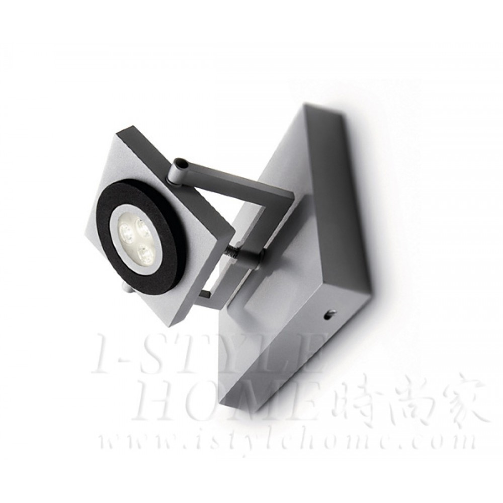 Ledino 69080 27K grey LED Spot light lig100408