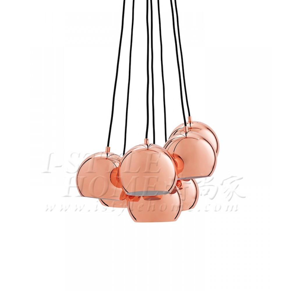 Ball multi copper glossy 18 cm lig100262
