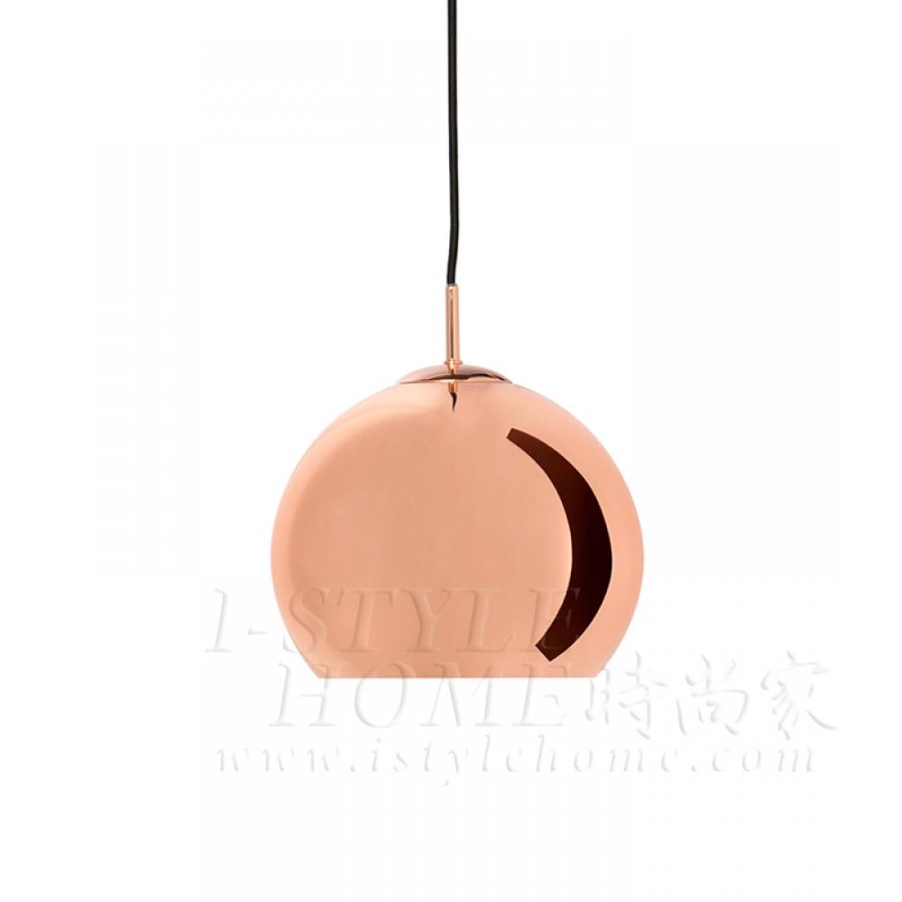 Ball ø25cm copper glossy lig100294
