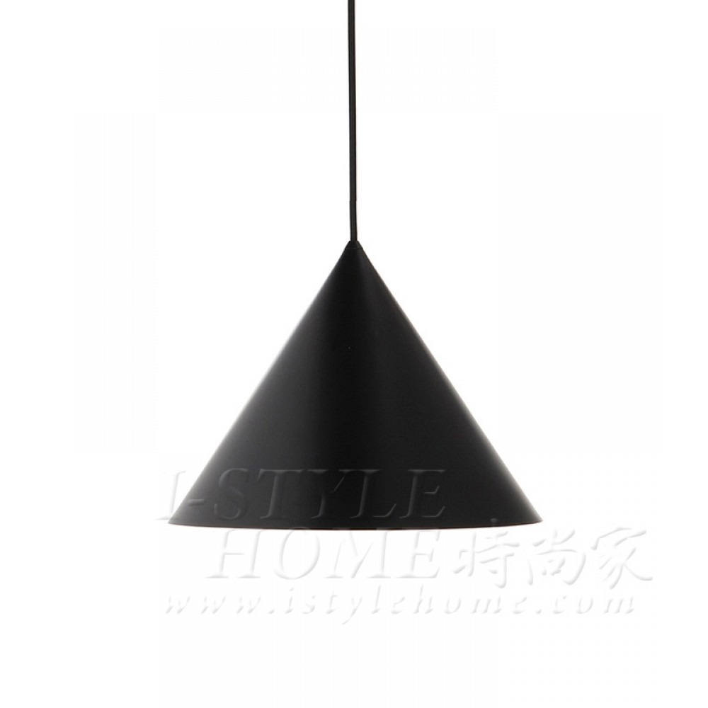 Benjamin Metal Pendant - black / matt lig100296