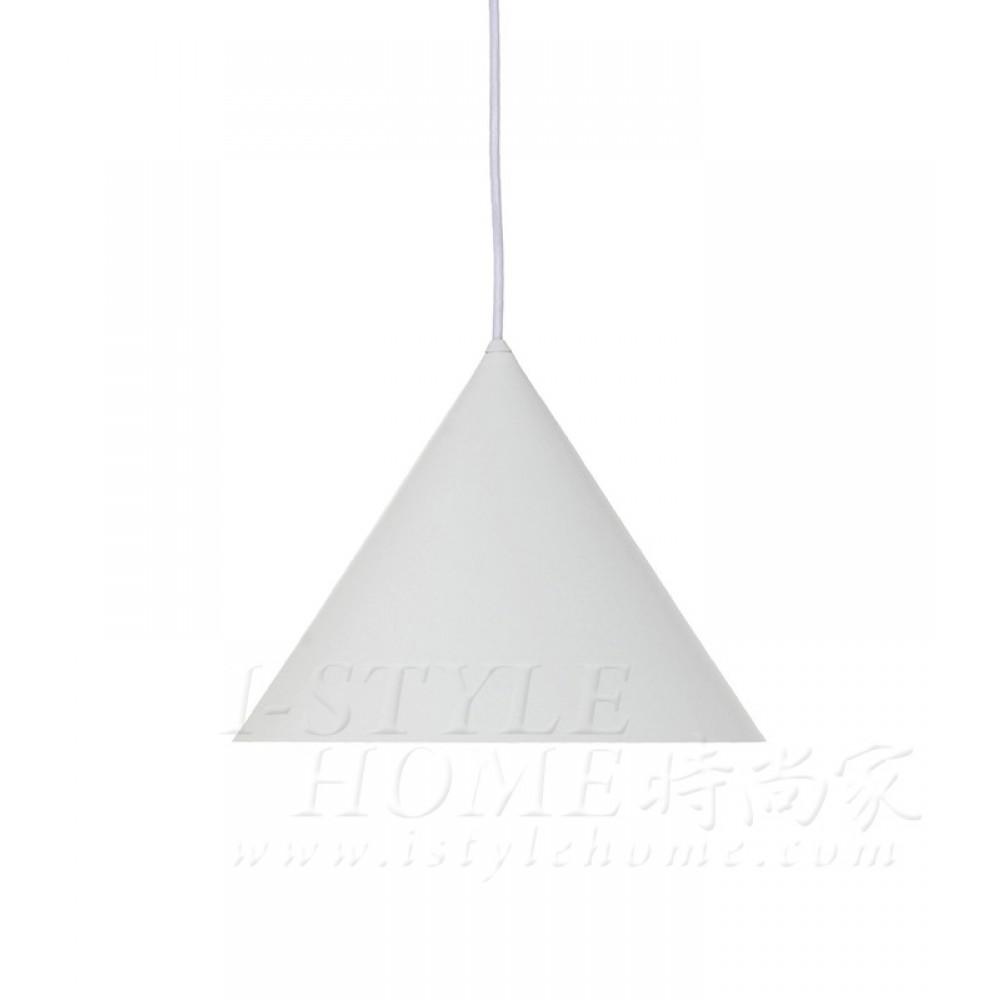 Benjamin Metal Pendant - white / matt lig100298