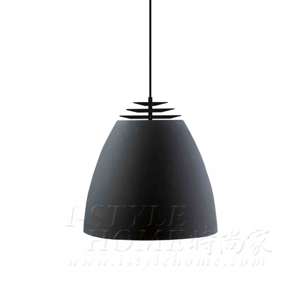 Buzz Ø30 cm black matt lig100306