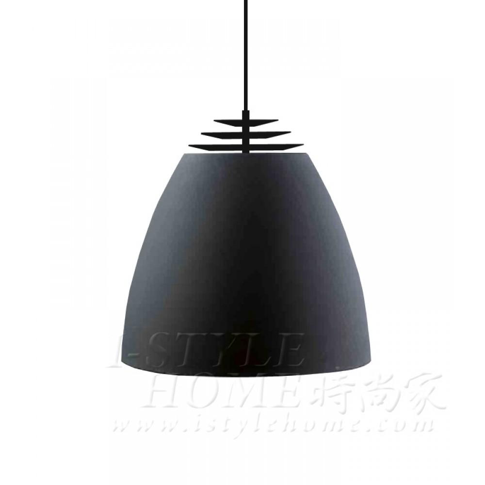 Buzz Ø45 cm black matt lig100304