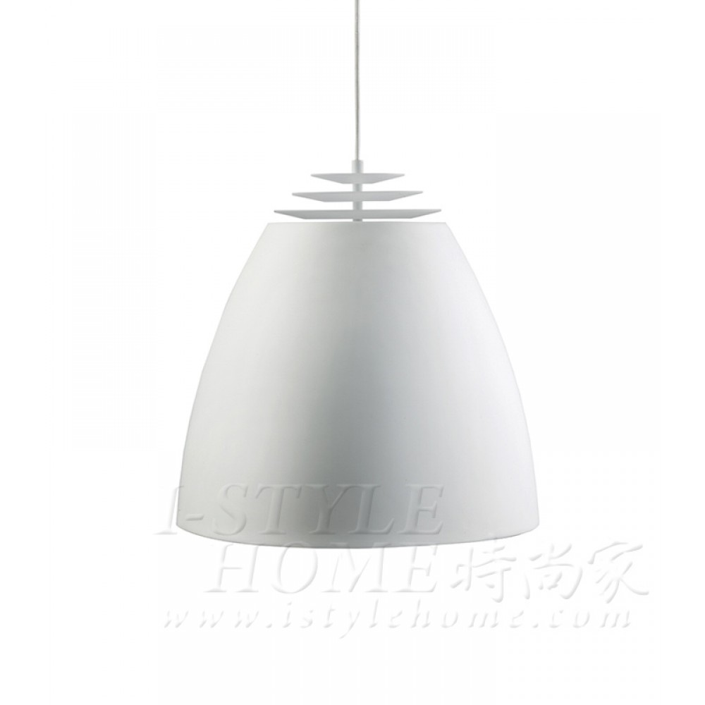 Buzz Ø45 cm white matt lig100303