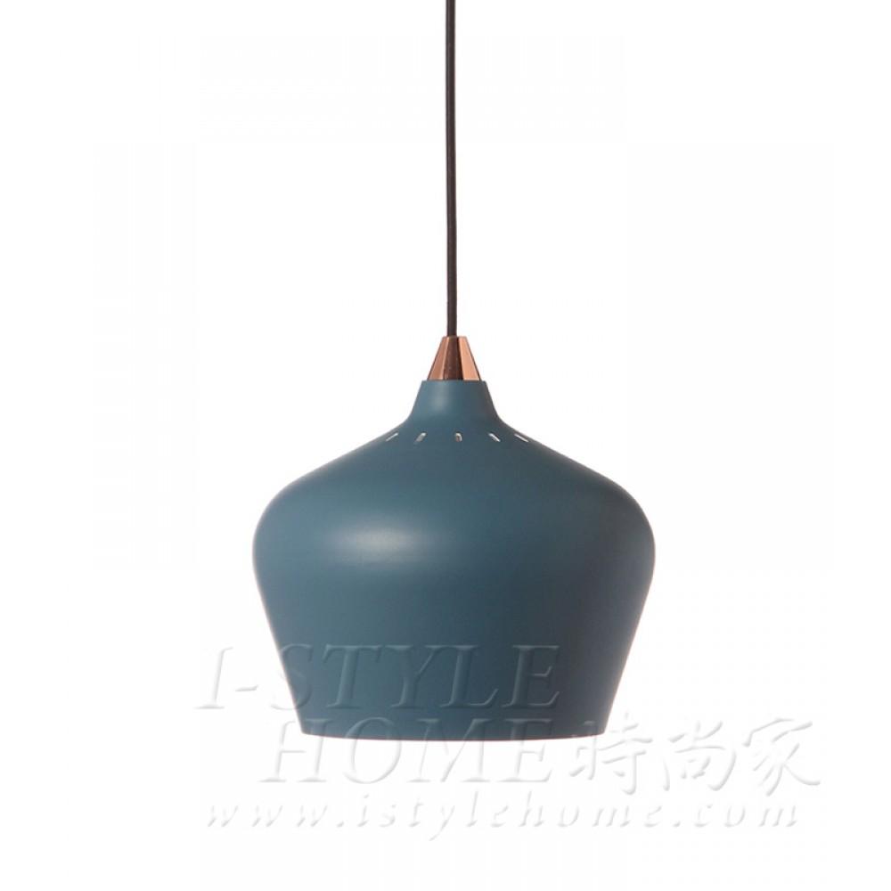 Cohen Ø25 cm petrol blue / matt lig100315