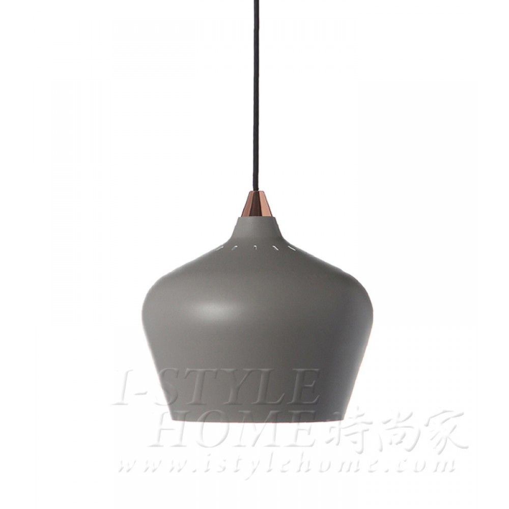 Cohen Ø25 cm grey / matt lig100314