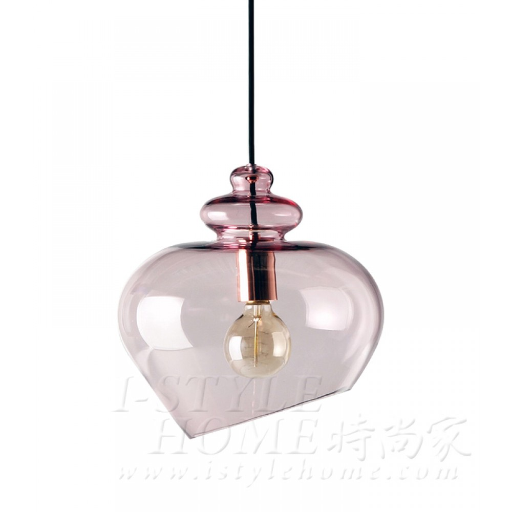 Grace glass pink lig100327
