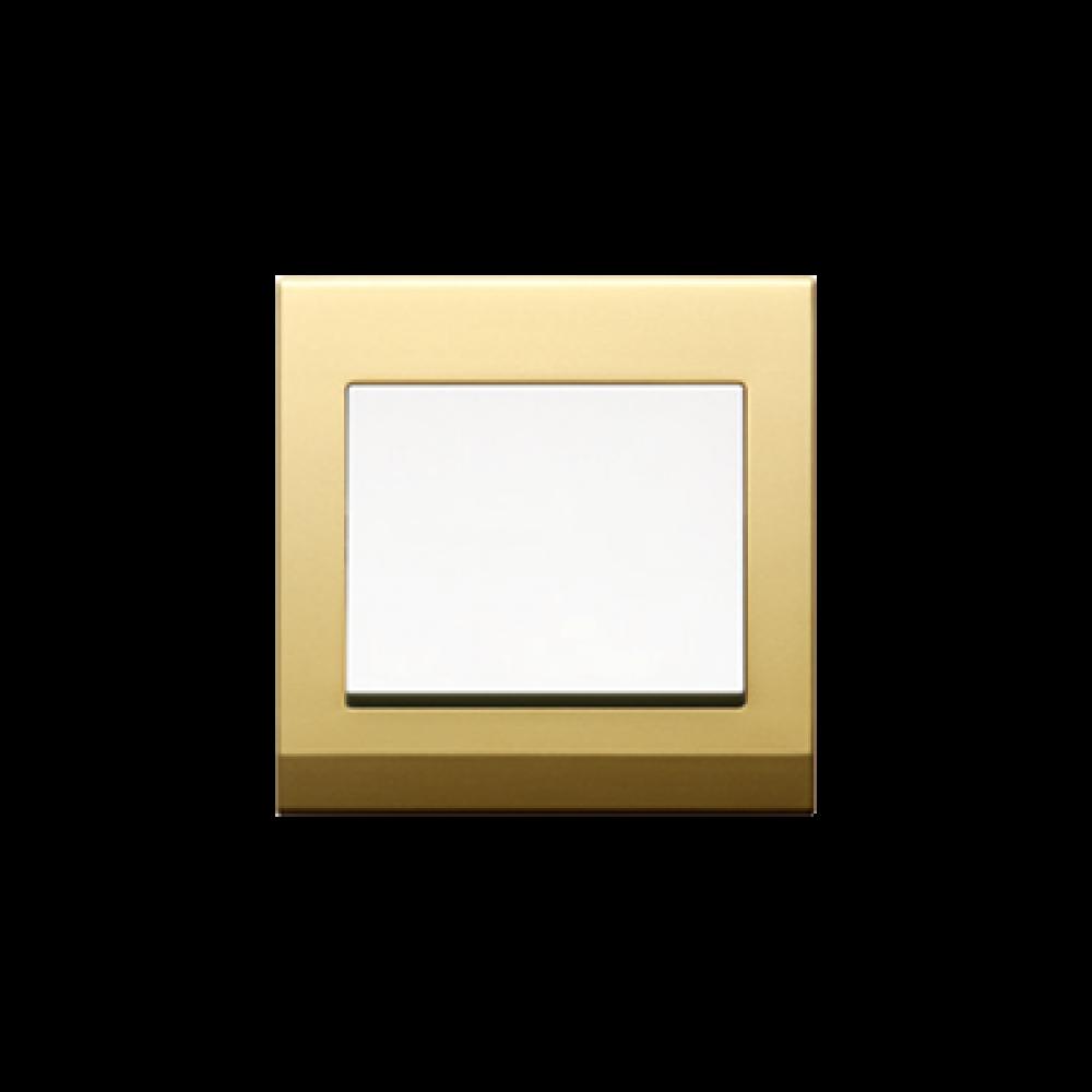 Jasmart S Golden White 1 Gang Switch swi100168