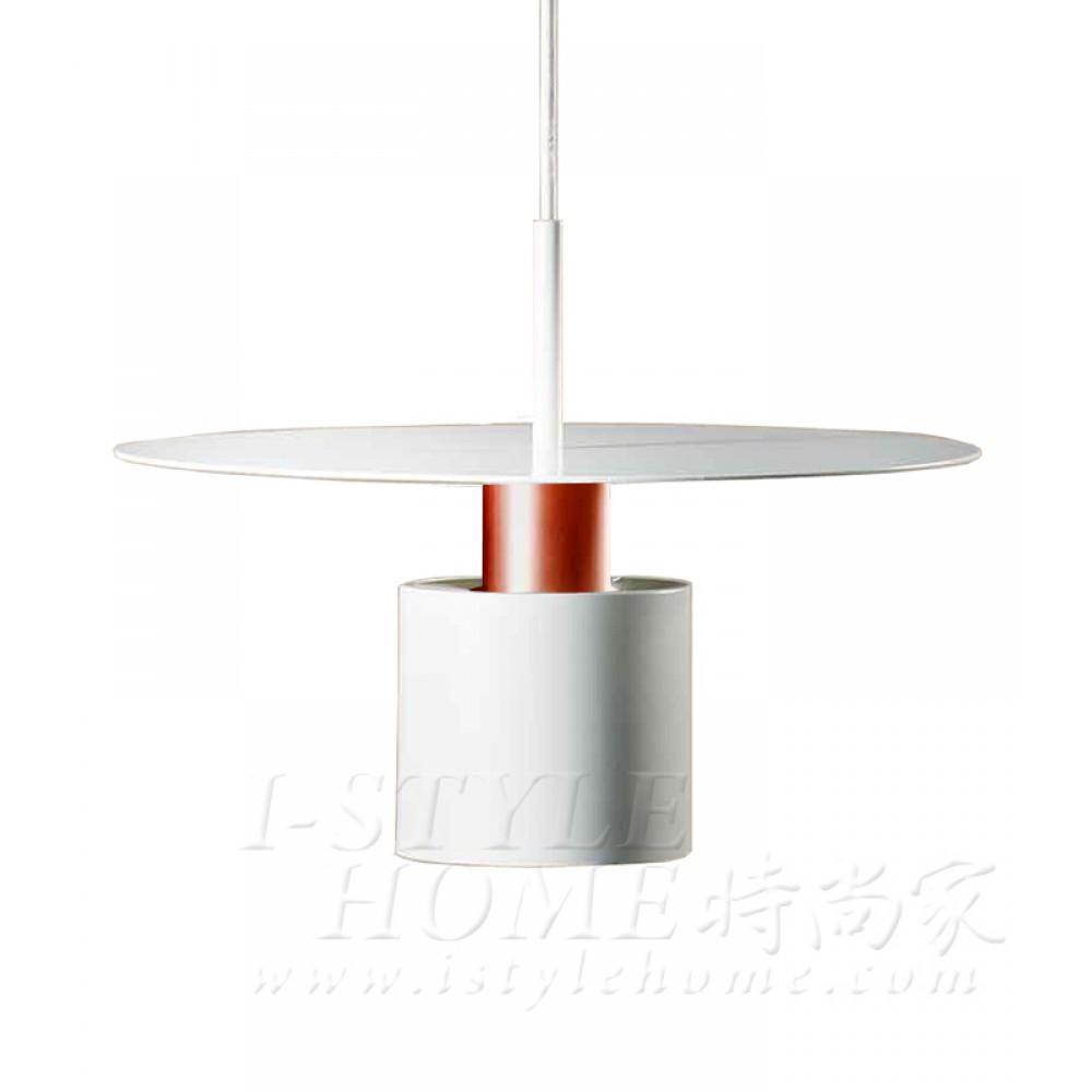 Kolorit ø34cm white matt brushed copper lig100351